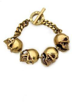 Monserat De Lucca Skull Bracelet on shopstyle.com
