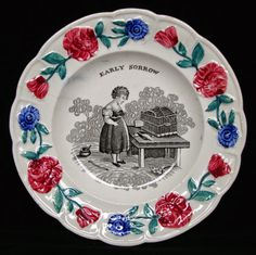 Dishy News - A Transferware Blog: INAPPROPRIATE OR FRIGHTENING PATTERNS FOR CHILDREN