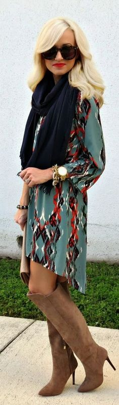 I really like the style of this dress! Def think you could rock something like this.