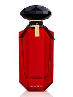 ✯ Black, Red and White ✯ Perfume | Victoria's Secret: Very Sexy Eau de Parfum