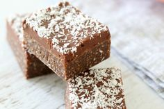 This was my favourite slice as a kid! Chocolate Coconut Slice is the BEST thing you'll ever make (and it's so easy!).