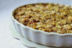 Bistro32: ŠVESTKOVÝ KOLÁČ SE SKOŘICOVOU DROBENKOU A MANDLEMI Macaroni And Cheese, Ethnic Recipes, Food, Mac And Cheese, Essen, Meals, Yemek, Eten