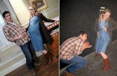 Young Mary and John (Matt Cohen/Amy Gumenick) bts :):)
