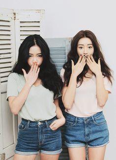 Jung Min Hee & Park Sora