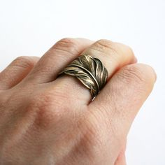 Cool Jewelry Feather Ring by chain chain chained... Check more at https://24myshop.ga/fashion/jewelry-feather-ring-by-chain-chain-chained/