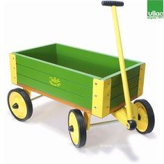 wooden cart for kids