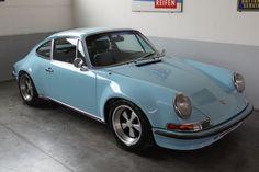 Sky Blue Porsche 911