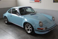 Sky Blue Porsche 911  #RePin by AT Social Media Marketing - Pinterest Marketing Specialists ATSocialMedia.co.uk