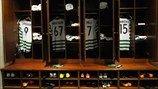 El vestuario del Celtic en la ida de octavos ante la Juventus   UEFA.com entre bastidores - ida de octavos de final. [12.02.13]