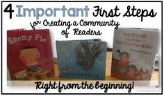 4 Important First Steps for Creating a Community of Readers