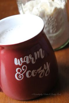 Cozy White Cocoa Mix (THM S, Low Carb)