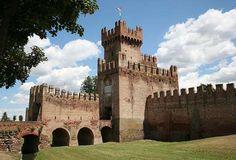 La Rocca degli Alberi a Montagnana, Padova. 45°14′00″N 11°27′00″E