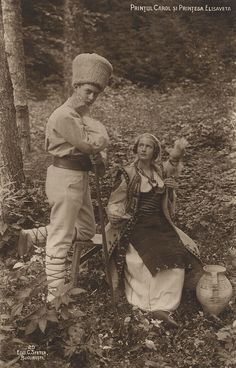 Prince Carol da Romania e sua irmã a Princess Elisaveta da Romania. Romanian Royal Family, Greek Royal Family, Greek Royalty, Christian Ix, Old King, Grand Duke, Important People, Ferdinand, Queen Victoria