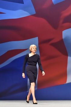 Theresa May: A Political Life In Pictures