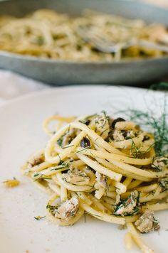 linguine with sardines fennel tomato pasta fennel sardine spaghetti ...