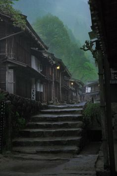 Tsumago-Juku, Japan was the forty-second of the sixty-nine post towns on the Nakasendō. It is located in Nagiso, Kiso District, Nagano Prefecture, Japan. It has been restored to its appearance as an Edo-era post town. The Places Youll Go, Places To Visit, Beautiful World, Beautiful Places, Japon Tokyo, Japanese House, Japanese Culture, Land Scape, Paths