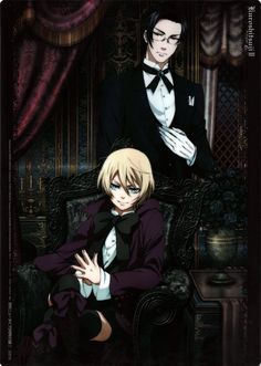 Alois and Claude -Kuroshitsuji © Yana Toboso