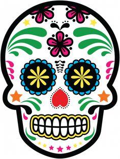 Calavera - Tete De Mort Mexicaine 21 - ref.d7459 | MPA Déco