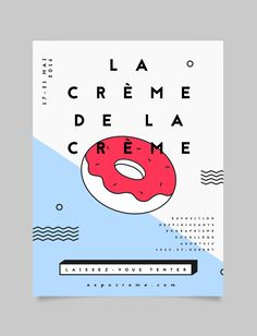 Ознакомьтесь с этим проектом @Behance: «La crème de la crème»… More