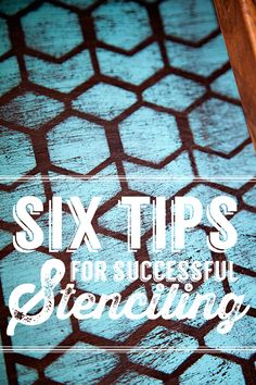 6 tips for successful stenciling from whipperberry