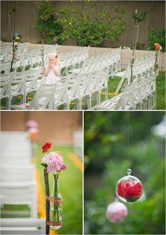backyard diy wedding ideas   Visit weddingchicks.com