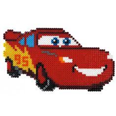 Cars McQueen Hama perler