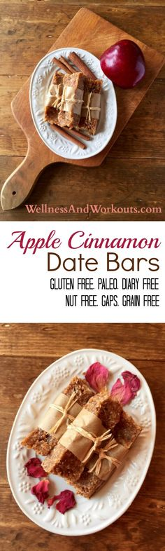 There's nothing like fresh, delicious, homemade Apple Cinnamon Date Bars! This recipe is gluten free, dairy free, grain free and even nut free. Works on Paleo & GAPS Diet. Best of all, it is an easy, no-bake recipe. Click now to learn more!