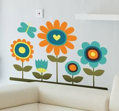 Fascinating and colorful floral Designs for your home!
