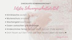 Letztes Schwangerschaftsdrittel. Dein persönlicher Leitfaden für die Schwangerschaft. Behördenwege in Österreich und To-Dos.