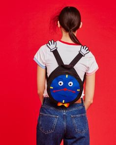 Don't Hug Me I'm Scared for Lazy Oaf - Clock Backpack