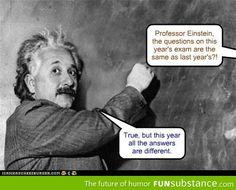 Einstien teaching theoretical physics