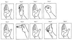 TRIGGER FINGER EXERCISES:    STEP 2: Finger Abduction 2    This routine works similarly to the abduction exercise where blood circulation is enhanced and the smaller ligaments are strengthened. Separate the injured finger as far away from the closest normal finger. Allow the two fingers to form a V position. Have the index finger and thumb of your other hand push the two fingers against the other fingers. Then press slightly the two fingers bringing them closer together.
