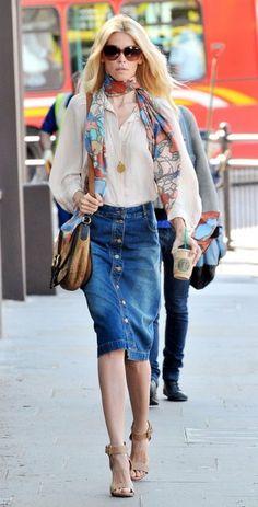 Claudia Schiffer in Stella McCartney 2