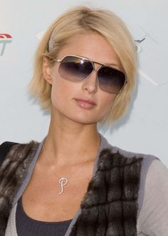 Paris Hiltons short bob hairstyle