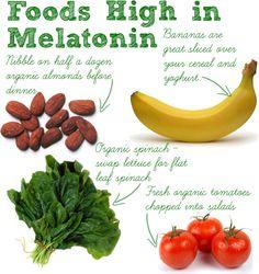 Foods high in Melatonin. #Sleep Smart | ZeezSleep.com
