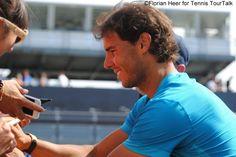 Rafael Nadal signs autographs in Stuttgart 2015 Rafa The Great!