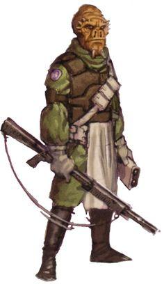 Star Wars Alien Species | Vodran (species)