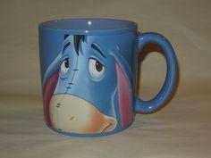 Eeyore Disney Store 16 Oz. Large Coffee Mug / Cup Winnie The Pooh