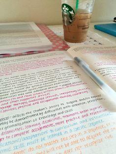 hellomydearr:  Note taking & coffee