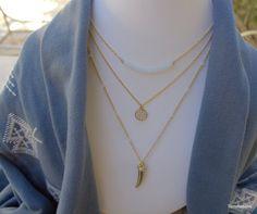 Layering Necklace Set layered necklace set by TommassiniJewelry