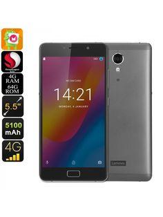Lenovo Vibe P2 Smartphone (Gray)