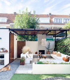 Pergola, Van, Cozy, Exterior, Outdoor Structures, Places, Outdoor Decor, Instagram, House