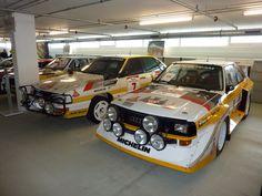Rally cars. Audi style