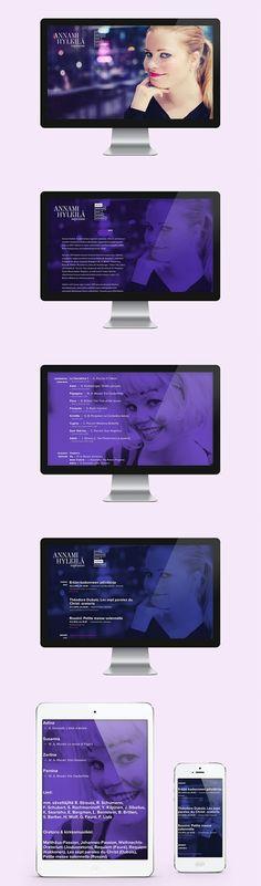 Finnish soprano Annami Hylkilä website design by Marko Myllyaho | www.annami.fi