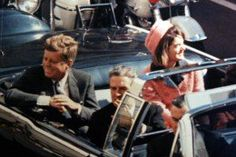 The Kennedys Are Looking Happy In This Photo. The Shots Are About To Be Fired.