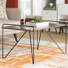 Coffee tables don't often drive the design of a room, but they can be a statement piece instead of an afterthought. Here are 10 standouts from places like west elm to wayfair to help start your search.
