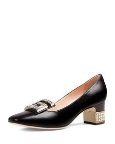 Get free shipping on Gucci Madelyn Leather 55mm Pump at Neiman Marcus. Shop the latest luxury fashions from top designers.