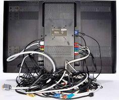 Une photo pour vous rappeler du branchement des câbles