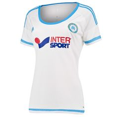 Olympique de Marseille Home Shirt 2015/16 - Womens: Olympique de Marseille Home Shirt 2015/16 -… #Sport #Football #Rugby #IceHockey