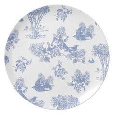 French folk art melamine plates  sc 1 st  Pinterest & $23.99 Home Blue Paisley Dinner Plates- Set of 8 a few sets of these ...